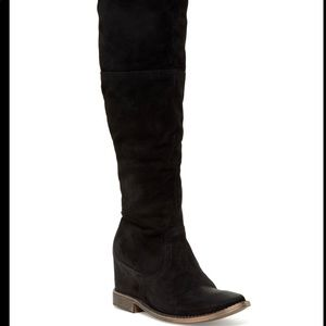 Matisse Stephen Over-the-Knee Suede Boot black 9